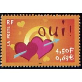 France Yvert Num 3380 ** Oui en 2001