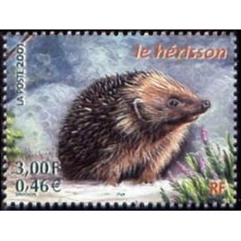 France Yvert Num 3383 ** Herisson en 2001