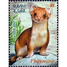 France Yvert Num 3384 ** Hermine en 2001