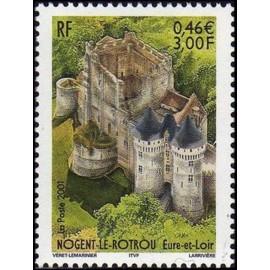 France Yvert Num 3386 ** Nogent le retrou en 2001