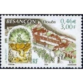 France Yvert Num 3387 ** Besançon en 2001
