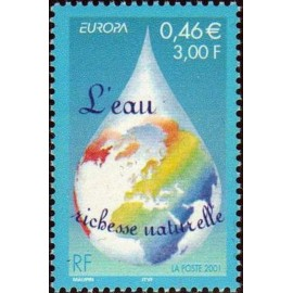 France Yvert Num 3388 ** Eau en 2001