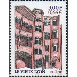 France Yvert Num 3390 ** Lyon en 2001