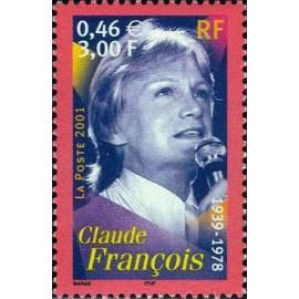 France Yvert Num 3391 ** Claude François en 2001