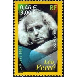 France Yvert Num 3392 ** leo Ferré en 2001