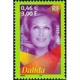 France Yvert Num 3394 ** Dalida en 2001