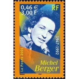 France Yvert Num 3395 ** Michel Berger en 2001