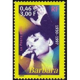 France Yvert Num 3396 ** Barbara Aigle en 2001