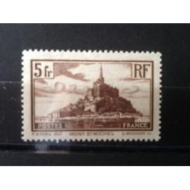 France num Yvert 260 ** MNH Mont Saint Michel Année 1929