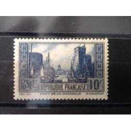France num Yvert 261 ** MNH Port de la Rochelle Année 1929