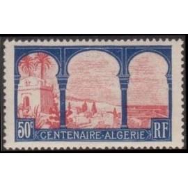 France num Yvert 263 ** MNH Centenaire Algerie Année 1930