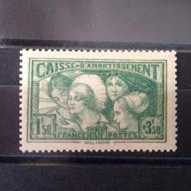 France num Yvert 269 ** MNH Coiffe Arles Alsace Bretagne Année 1931