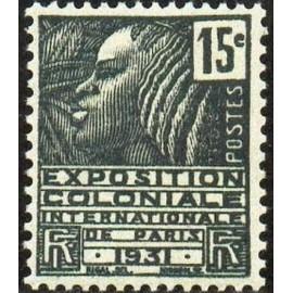 France num Yvert 270 ** MNH Femme Fachi Année 1931