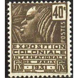 France num Yvert 271 ** MNH Femme Fachi Année 1931