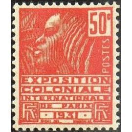 France num Yvert 272 ** MNH Femme Fachi Année 1931