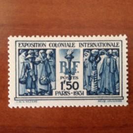 France num Yvert 274 ** MNH Exposition coloniale Paris Année 1931