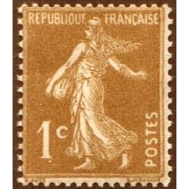 France num Yvert 277A ** MNH Semeuse Année 1932
