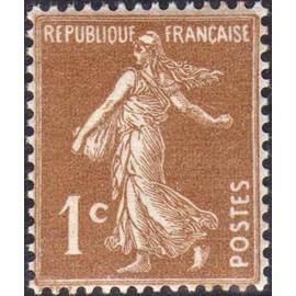 France num Yvert 277B ** MNH Semeuse Année 1932