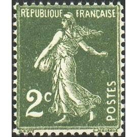 France num Yvert 278 ** MNH Semeuse Année 1932