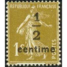 France num Yvert 279A ** MNH Semeuse Année 1932