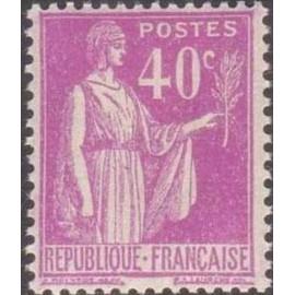 France num Yvert 281 ** MNH Type Paix Année 1932