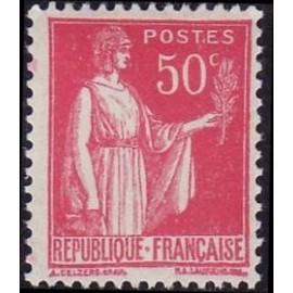 France num Yvert 283 ** MNH Type Paix Année 1932