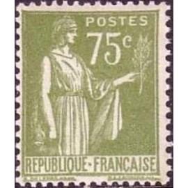 France num Yvert 284A ** MNH Type Paix Année 1932