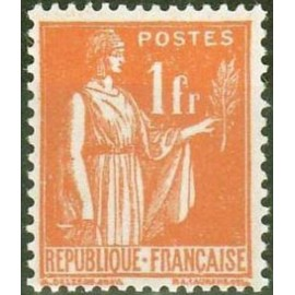 France num Yvert 286 ** MNH Type Paix Année 1932