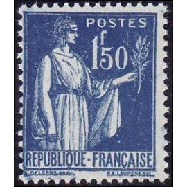 France num Yvert 288 ** MNH Type Paix Année 1932