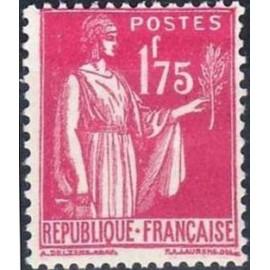 France num Yvert 289 ** MNH Type Paix Année 1932