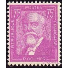 France num Yvert 292 ** MNH Paul Doumer Année 1933