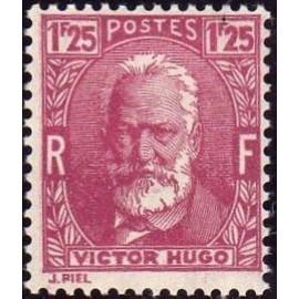 France num Yvert 293 ** MNH Victor Hugo Année 1933
