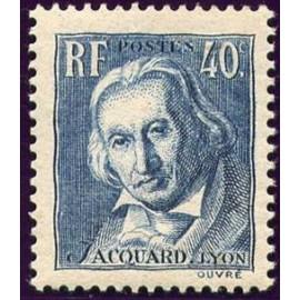 France num Yvert 295 ** MNH Jacquard Année 1934