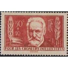 France num Yvert 332 ** MNH Victor Hugo Année 1936