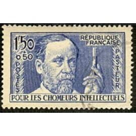 France num Yvert 333 ** MNH Louis Pasteur  Année 1936