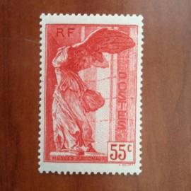 France num Yvert 355 ** MNH Samothrace Année 1937