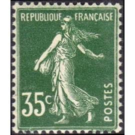 France num Yvert 361 ** MNH Semeuse Année 1937