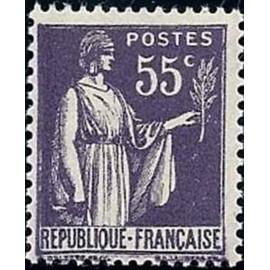 France num Yvert 363 ** MNH Paix Année 1937