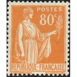 France num Yvert 366 ** MNH Paix Année 1937