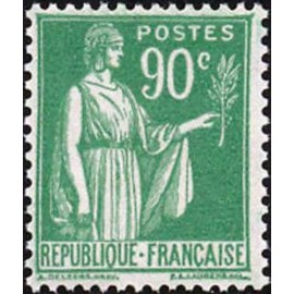 France num Yvert 367 ** MNH Paix Année 1937