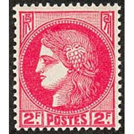 France num Yvert 373 ** MNH Type ceres Année 1938