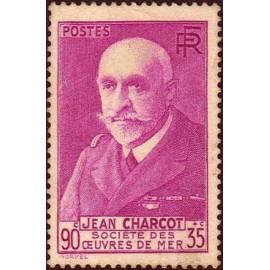 France num Yvert 377A ** MNH Charcot Année 1938