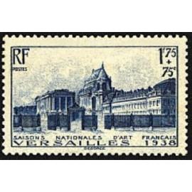 France num Yvert 379 ** MNH Château versailles Année 1938