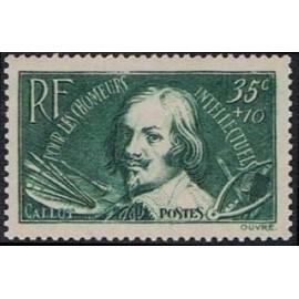 France num Yvert 381 ** MNH Jacques Callot Année 1938