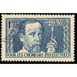 France num Yvert 385 ** MNH Louis Pasteur  Année 1938