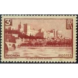 France num Yvert 391 ** MNH Avignon Année 1938