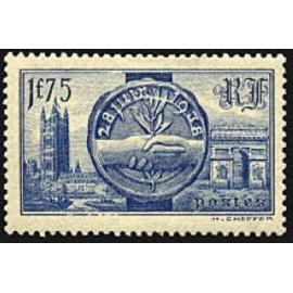 France num Yvert 400 ** MNH Arc de triomphe Année 1938