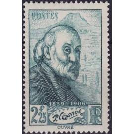 France num Yvert 421 ** MNH Paul cezanne Année 1939
