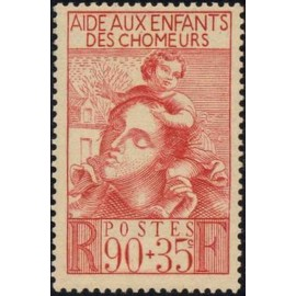 France num Yvert 428 ** MNH enfant Année 1939