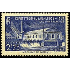 France num Yvert 430 ** MNH machine de Marly Année 1939
